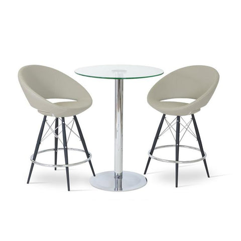 Soho Concept Crescent MW Bar Stools - YourBarStoolStore + Chairs, Tables and Outdoor - 7