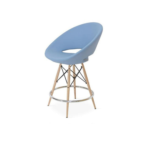 Soho Concept Crescent MW Bar Stools - YourBarStoolStore + Chairs, Tables and Outdoor - 8
