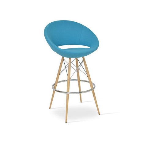 Soho Concept Crescent MW Bar Stools - YourBarStoolStore + Chairs, Tables and Outdoor - 9