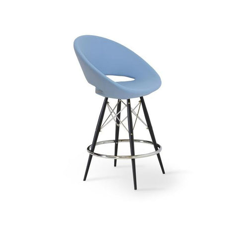 Soho Concept Crescent MW Counter Stools - YourBarStoolStore + Chairs, Tables and Outdoor - 11