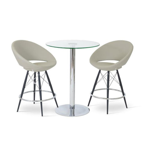 Soho Concept Crescent MW Counter Stools - YourBarStoolStore + Chairs, Tables and Outdoor - 7