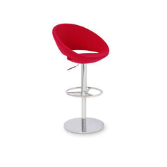 Soho Concept Crescent Piston Counter Stools - YourBarStoolStore + Chairs, Tables and Outdoor - 1