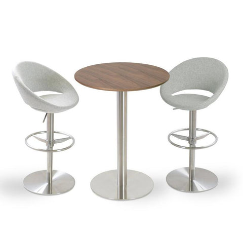 Soho Concept Crescent Piston Counter Stools - YourBarStoolStore + Chairs, Tables and Outdoor - 2