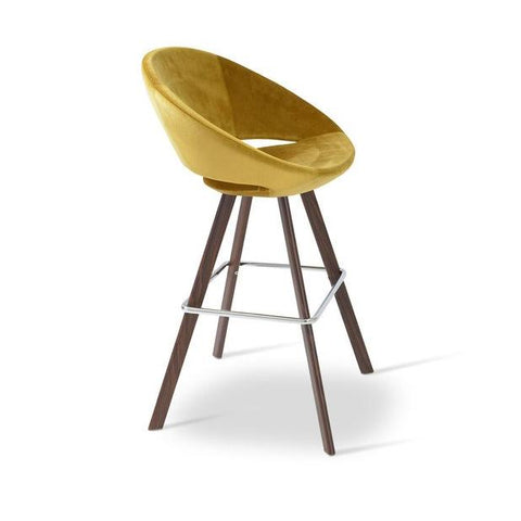 Soho Concept Crescent Sword Counter Stools - YourBarStoolStore + Chairs, Tables and Outdoor - 4