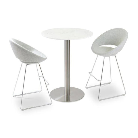 Soho Concept Crescent Wire Bar Stools - YourBarStoolStore + Chairs, Tables and Outdoor - 7