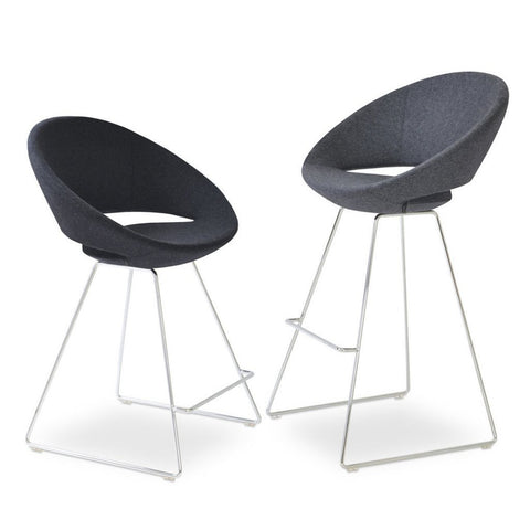 Soho Concept Crescent Wire Bar Stools - YourBarStoolStore + Chairs, Tables and Outdoor - 2