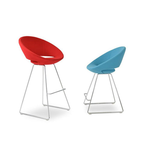 Soho Concept Soho Concept Crescent Wire Counter Stools - YourBarStoolStore + Chairs, Tables and Outdoor - 4