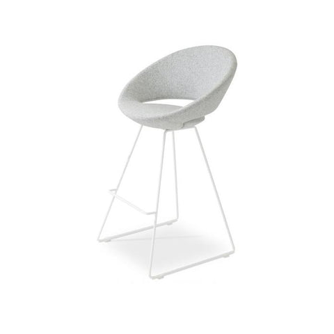 Soho Concept Soho Concept Crescent Wire Counter Stools - YourBarStoolStore + Chairs, Tables and Outdoor - 5