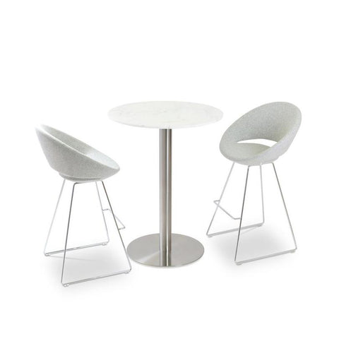 Soho Concept Soho Concept Crescent Wire Counter Stools - YourBarStoolStore + Chairs, Tables and Outdoor - 7