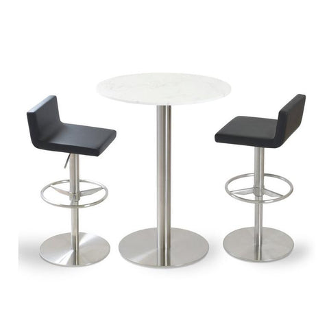 Soho Concept Dallas Piston Counter Stools - YourBarStoolStore + Chairs, Tables and Outdoor - 5