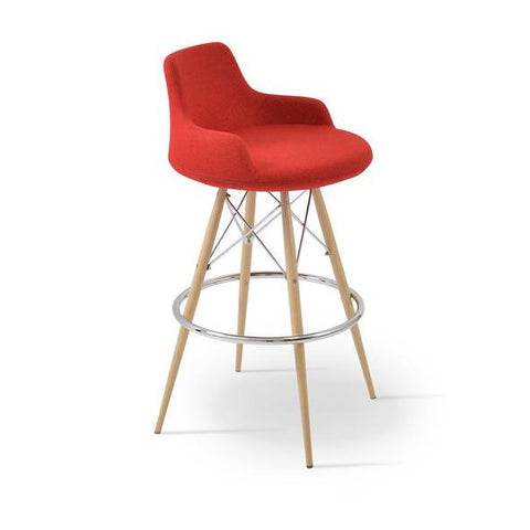 Soho Concept Dervish MW Bar Stools - YourBarStoolStore + Chairs, Tables and Outdoor - 5
