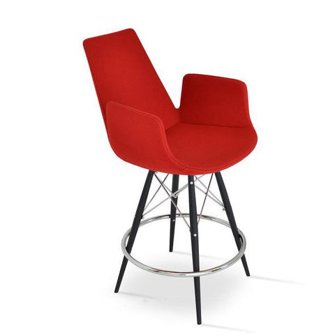Soho Concept Eiffel Arm MW Bar Stools - YourBarStoolStore + Chairs, Tables and Outdoor - 2