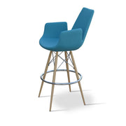 Soho Concept Eiffel Arm MW Bar Stools - YourBarStoolStore + Chairs, Tables and Outdoor - 3