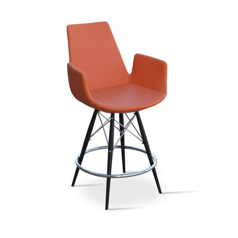 Soho Concept Eiffel Arm MW Counter Stools - YourBarStoolStore + Chairs, Tables and Outdoor - 1