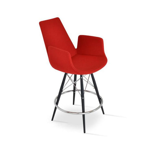 Soho Concept Eiffel Arm MW Counter Stools - YourBarStoolStore + Chairs, Tables and Outdoor - 2