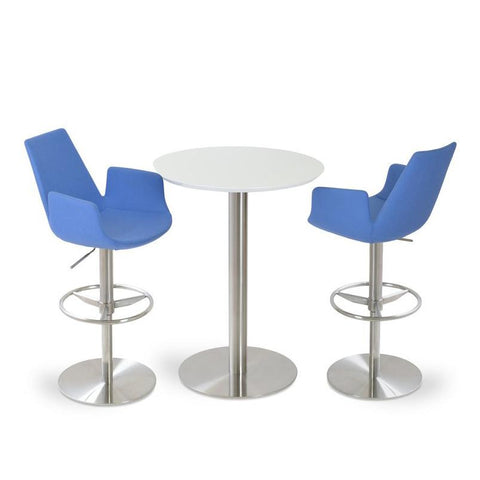 Soho Concept Eiffel Arm Piston Counter Stools - YourBarStoolStore + Chairs, Tables and Outdoor - 4