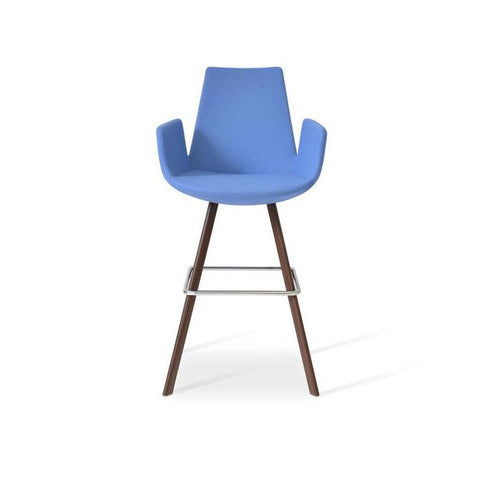 Soho Concept Eiffel Arm Sword Counter Stools - YourBarStoolStore + Chairs, Tables and Outdoor - 2