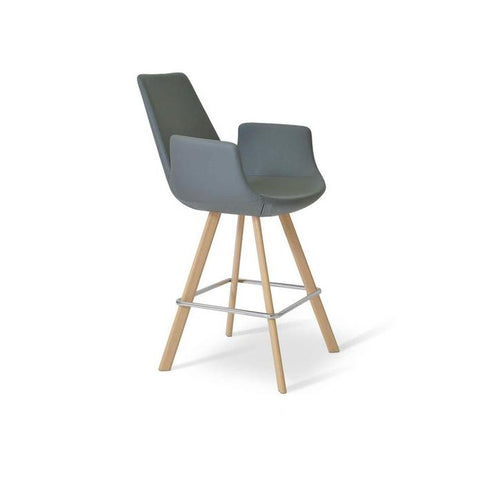 Soho Concept Eiffel Arm Sword Counter Stools - YourBarStoolStore + Chairs, Tables and Outdoor - 3