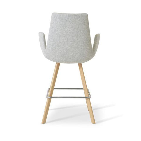 Soho Concept Eiffel Arm Sword Counter Stools - YourBarStoolStore + Chairs, Tables and Outdoor - 4