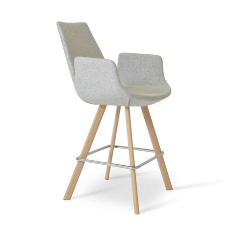 Soho Concept Eiffel Arm Sword Counter Stools - YourBarStoolStore + Chairs, Tables and Outdoor - 1