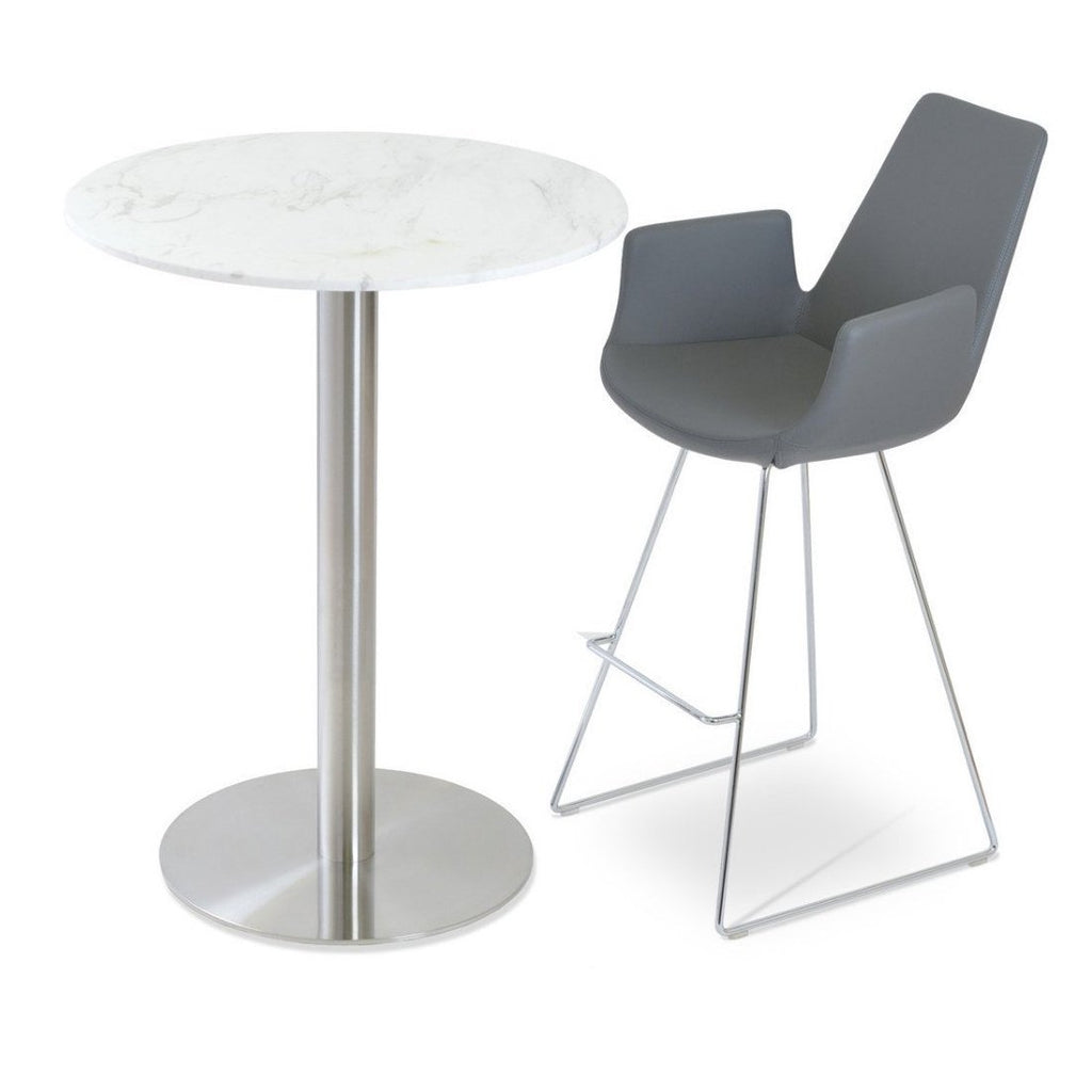 Soho Concept Eiffel Arm Wire Bar Stools - YourBarStoolStore + Chairs, Tables and Outdoor