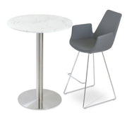 Soho Concept Eiffel Arm Wire Counter Stools - YourBarStoolStore + Chairs, Tables and Outdoor