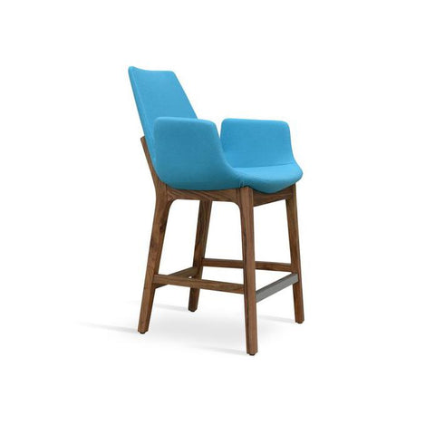 Soho Concept Eiffel Arm Wood Counter Stools - YourBarStoolStore + Chairs, Tables and Outdoor - 2