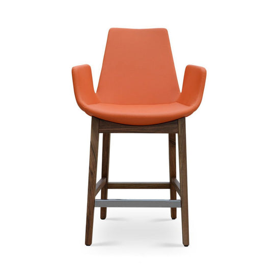 Soho Concept Eiffel Arm Wood Counter Stools - YourBarStoolStore + Chairs, Tables and Outdoor - 1