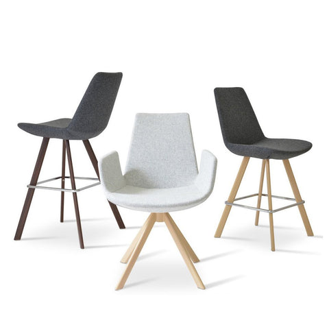 Soho Concept Eiffel Sword Counter Stools - YourBarStoolStore + Chairs, Tables and Outdoor - 2