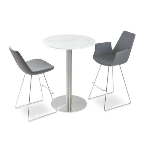 Soho Concept Eiffel Wire Bar Stools - YourBarStoolStore + Chairs, Tables and Outdoor - 3