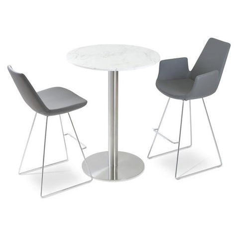 Soho Concept Eiffel Wire Counter Stools - YourBarStoolStore + Chairs, Tables and Outdoor - 3