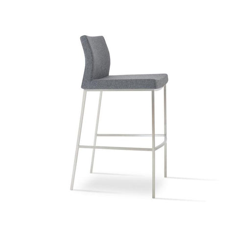Soho Concept Pasha Chrome Bar Stools - YourBarStoolStore + Chairs, Tables and Outdoor - 6