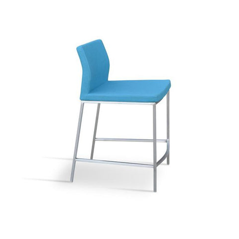 Soho Concept Pasha Chrome Counter Stools - YourBarStoolStore + Chairs, Tables and Outdoor - 3
