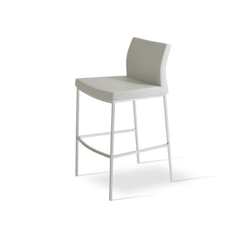 Soho Concept Pasha Chrome Counter Stools - YourBarStoolStore + Chairs, Tables and Outdoor - 4