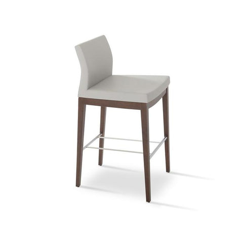 Soho Concept Pasha Wood Counter Stools - YourBarStoolStore + Chairs, Tables and Outdoor - 2