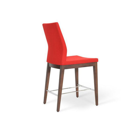 Soho Concept Pasha Wood Counter Stools - YourBarStoolStore + Chairs, Tables and Outdoor - 4