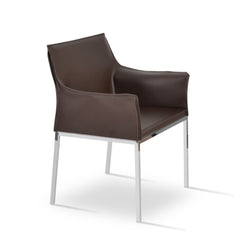 Soho Concept Polo Arm Chrome - YourBarStoolStore + Chairs, Tables and Outdoor - 1