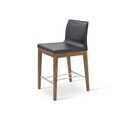 Polo Wood Counter Stool - YourBarStoolStore + Chairs, Tables and Outdoor - 3