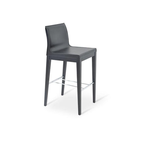 Polo Wood Counter Stool - YourBarStoolStore + Chairs, Tables and Outdoor - 4