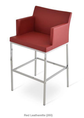 Soho Chrome Bar Stool - YourBarStoolStore + Chairs, Tables and Outdoor - 1