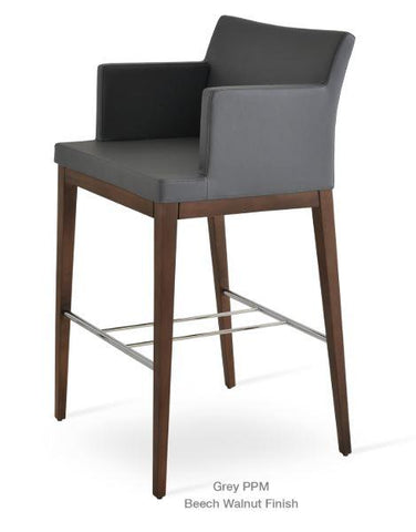 Soho Concept Soho Wood Counter Stools - YourBarStoolStore + Chairs, Tables and Outdoor - 7