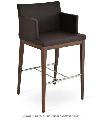 Soho Concept Soho Wood Counter Stools - YourBarStoolStore + Chairs, Tables and Outdoor - 5