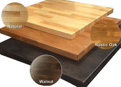 "1.5"" Thick Beechwood Butcher Block Table Top"