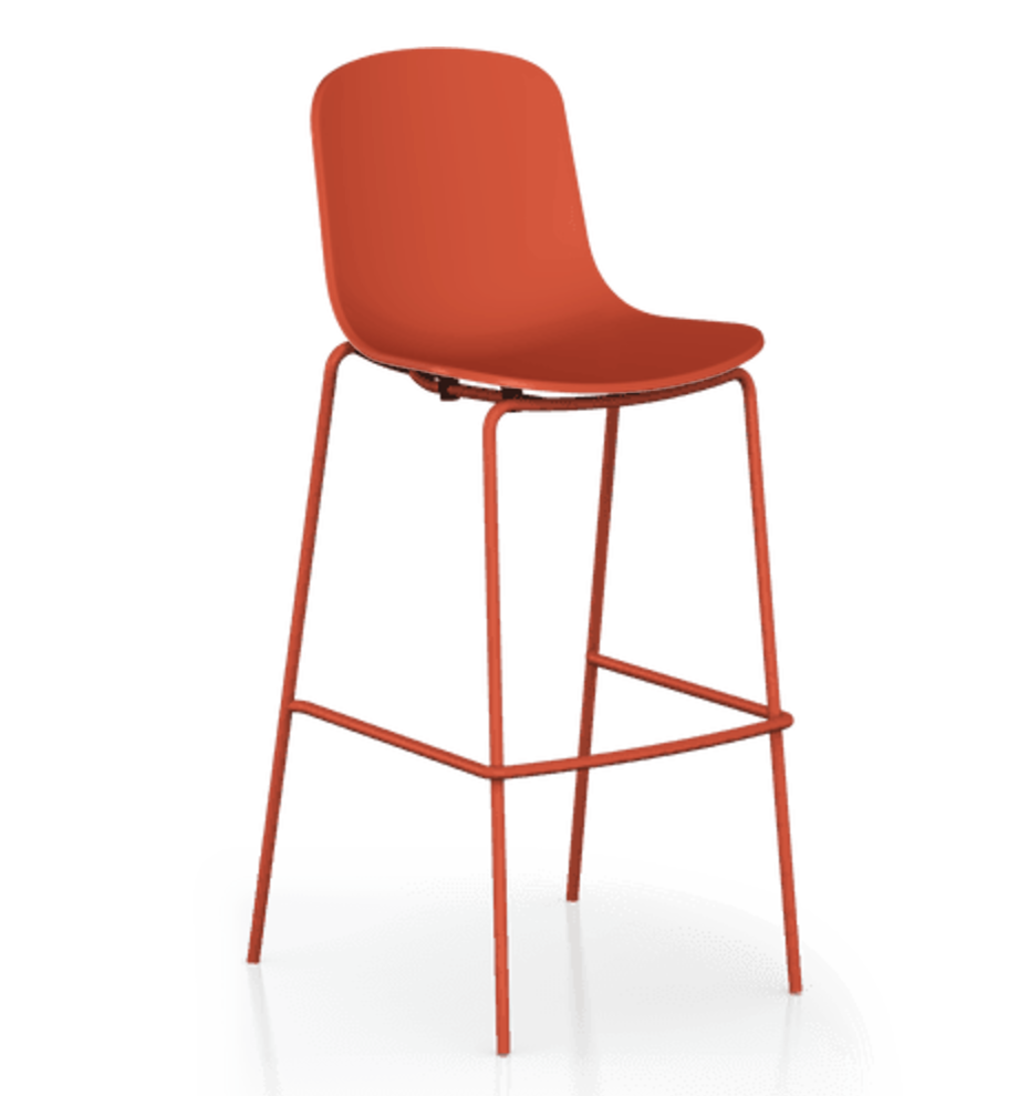 Holi Closed Shell Barstool