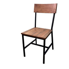 Timber Series Metal and Wood Chair