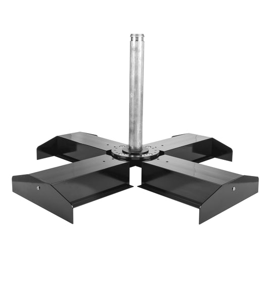 Modular Cross Base For Cantilever Umbrella