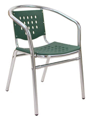 FS Aluminum Frame Armchair With Polypropylene Seat