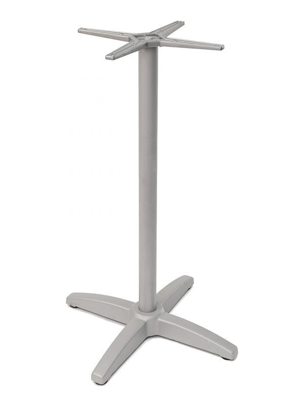 Outdoor Aluminum Bar Height Cross Base