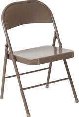 2 Pk. HERCULES Series Double Braced Metal Folding Chair