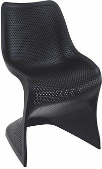 Compamia Bloom Dining Chair Black ISP048-BLA - RestaurantFurniturePlus + Chairs, Tables and Outdoor - 1